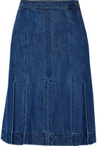 Michael Kors Denim Skirt - Mid denim