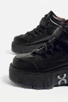 Bronx 1624 Moonwalk Black Platform Trainers - black UK 4 at Urban Outfitters