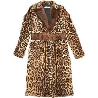 Givenchy \N Brown Fur Coats