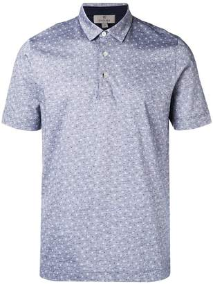 Canali patterned polo top