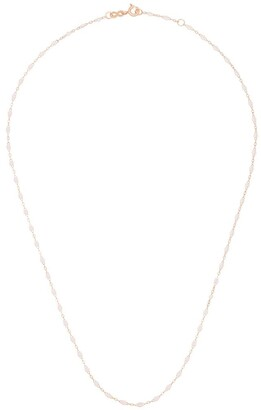 Gigi Clozeau 18kt Gold Beaded Chain Necklace