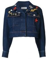 Sonia Rykiel cropped denim jacket
