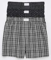 Tommy Hilfiger Cotton Classics Woven Boxer 3-Pack Underwear - Men's