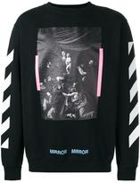 Off-White 'Caravaggio' sweatshirt - men - Cotton - XS