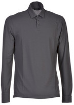Zanone Long Sleeve Classic Polo Shirt