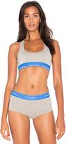 Calvin Klein Underwear Modern Cotton Bra in Gray. - size L (also in M,S)