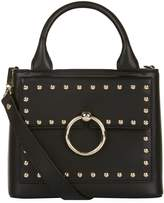 Claudie Pierlot Small Studded Top Handle Bag, Black