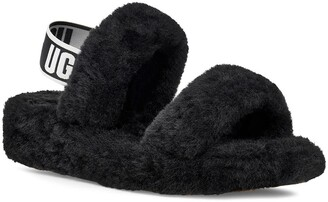 UGG Oh Yeah Genuine Shearling Slingback Slipper