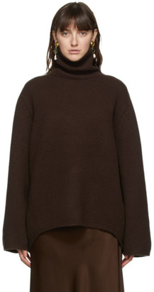 Totême Brown Cambridge Turtleneck