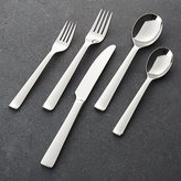 Crate & Barrel Foster Mirror 5-Piece Flatware Place Setting