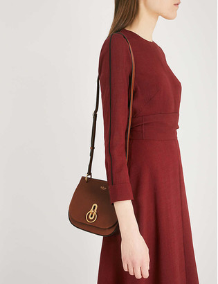 Mulberry Amberley small pebbled-leather satchel