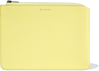 Acne Studios Malachite Leather Pouch