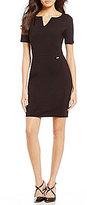 Armani Exchange Ponte Bodycon Sleeveless Dress