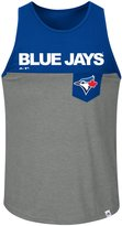 Majestic Toronto Blue Jays Throw The Towel Tank Top - S