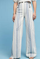 Lemlem Halima Wide-Leg Sailor Pants