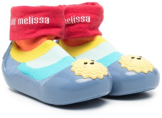 Mini Melissa Sun-Embellished Trainers