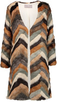 Tart Collections Janis faux fur coat