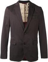 Al Duca D'Aosta 1902 - herringbone blazer - men - Cotton/Spandex/Elastane - 54
