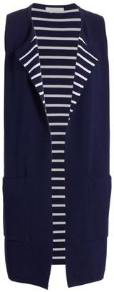 Joan Vass Duster Sweater Vest