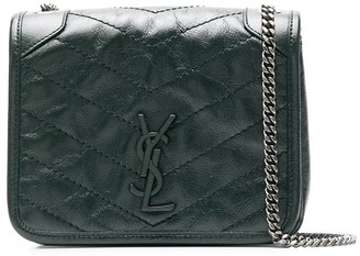 Saint Laurent Leather Chain Crossbody Bag