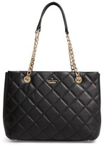 Kate Spade Emerson Place - Allis Leather Tote - Black