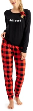 Jenni Pajama & Scrunchie 3pc Gift Set, Created for Macy's