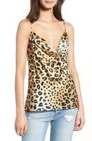 KENDALL + KYLIE Leopard Print Camisole