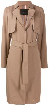 Fabiana Filippi Belted Mid-Length Coat