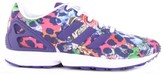 adidas Leopard-Print Lace-Up ZX Flux Trainers