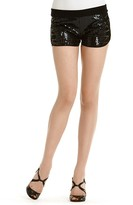 Sequined Jersey Shorts