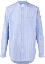 Closed striped shirt - men - Cotton - S