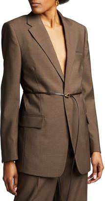 Bottega Veneta Wool Melange Jacket
