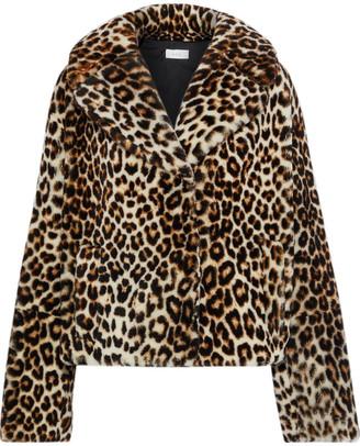 A.L.C. Grant Leopard-print Shearling Jacket