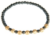 Luis Morais Yellow-gold And Hematite Bead Bracelet