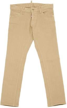 DSQUARED2 Beige Cotton - elasthane Jeans