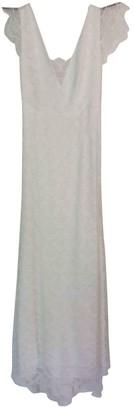 Rime Arodaky Ecru Silk Dress for Women