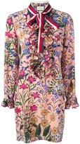 Gucci new flora print dress - women - Silk/Cotton/Viscose - 42