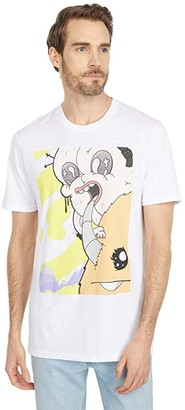 Depressed Monsters Anxiety Tee (White) Clothing