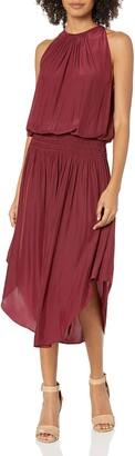 Ramy Brook Women's Audrey Smocked Waist MIDI Dress