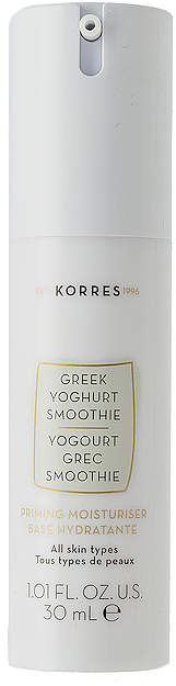 Korres Greek Yoghurt Smoothie Priming Moisturizer.