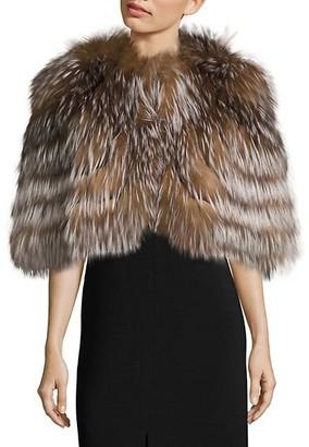 The Fur Salon Fox Fur Cape