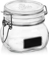 Bormioli Fido Chalk Label Small Jar, 17.5 oz.