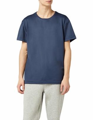 Mick Morrison Men's Short Sleeve Sports Shirt - Blue - Medium