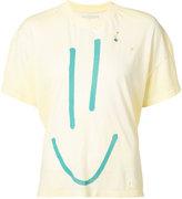 L'Equip pin detail destroyed T-shirt