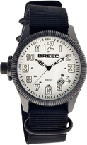 Breed Black & White Angelo Swiss Watch