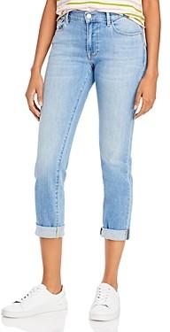 Frame Le Garcon Slim-Straight Jeans in Overturn