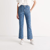 Madewell Rivet & Thread Embroidered Star Jeans