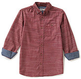 First Wave Big Boys 8-20 End-on-End Woven Shirt