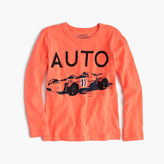 "J.Crew Boys' long-sleeve ""auto"" T-shirt"