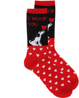 K. Bell Women's Woof You Crew Socks